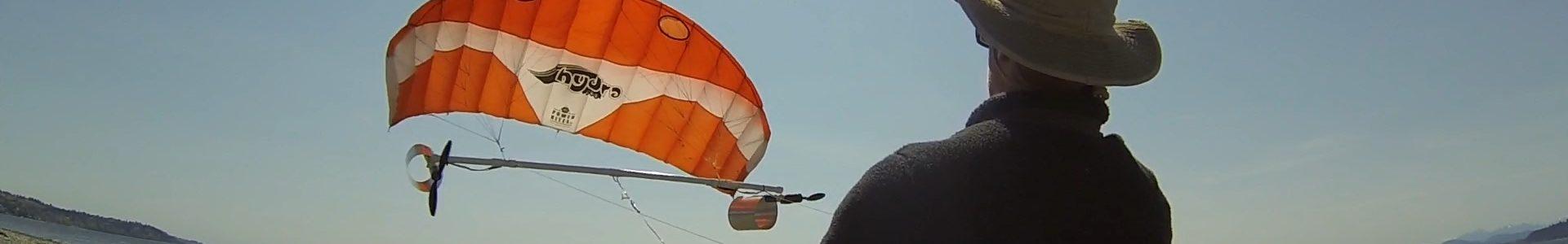 Wind Turbine Testing using 3m Kite