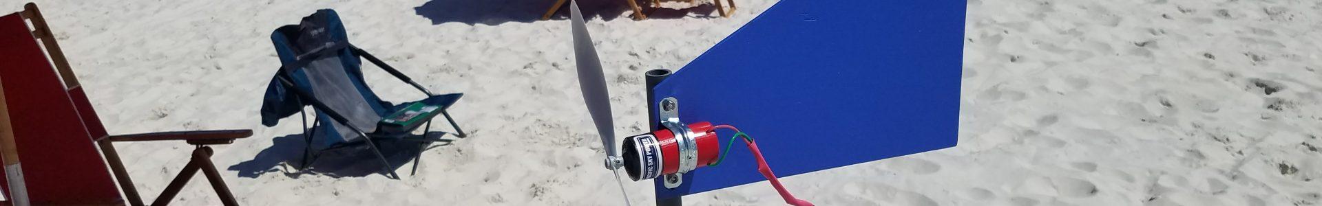 NEW Travel Wind Turbine 12volt Generator Kit