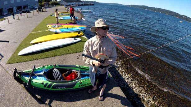 Summer Fun with the Kiteboat Controller and Travel Wind Turbine