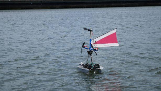 Clean Tech Ship Wind Turbines