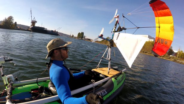 Evolving Clean Energy – Hybrid Power Kiteboat Vessel Propulsion System