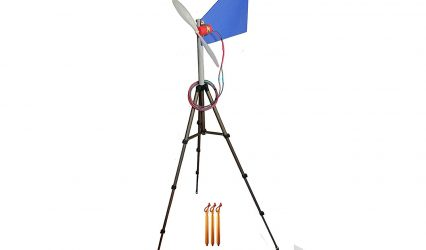 Travel Wind Turbine Generator