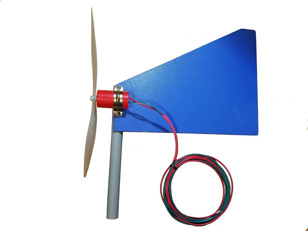 Charger Wind Turbine Generator with Fin